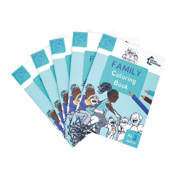 FamilyColoringBook Fächer 2000 x 2000